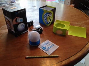 Sphero: what's in the box