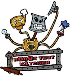 Test Kitchen Logo robot test kitchen – simple robotics, simply explained